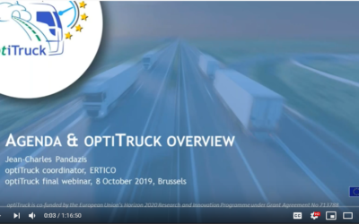 Watch it again: optiTruck Final Webinar